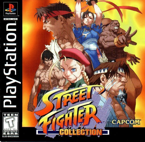 Street Fighter Collection Disc2of2 Street Fighter Alpha 2 Gold